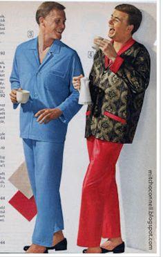 """HaHaHa, you're right, I DO look like a satin Satan. 