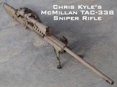 2 of Chris Kyles favorites: .300 Win Mag and TAC 338 Lapua (24 Photos)