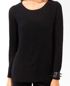 Chunky Waffle Knit Sweater $22.80