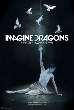 It Comes Back To You Exclusive Lithograph   Imagine Dragons