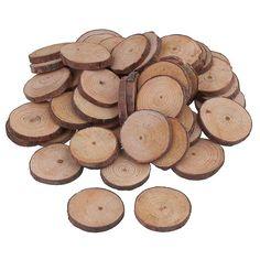 50db 3cm-4cm Fa szelet kerek rönk korongok Arts & Crafts & Ornaments WS2447 | Fruugo HU Diy Wreath, Wreaths, Craftsman, Arts And Crafts, Texture, Ornaments, Wood, Crown Flower, Artisan