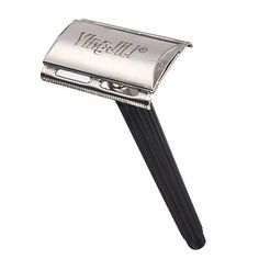 Traditional Manual Razor Stainless Steel Bear Double Edge Shaver
