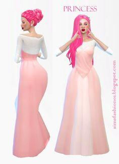 Princess Dress at Sims Fashion01 via Sims 4 Updates