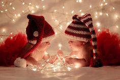 Christmas pics idea for my babies