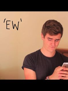 """Connor Franta. (I've said this so many times. . . """"just- EW"""") :P"""