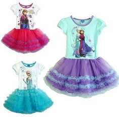 Frozen Tutu Dresses! Too much fun! This is the perfect birthday dress for any Frozen Birthday Party!