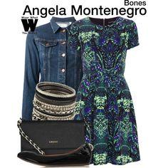 Inspired by Michaela Conlin as Angela Montenegro on Bones.