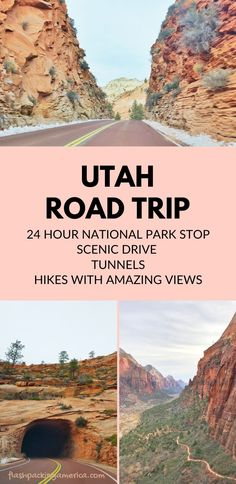 see the post for more! national park vacation hiking trails with great views. best places to visit in the world. usa outdoor travel destinations. things to do in utah winter vacation spots, ideas, places in the US. zion national park trip alongside trip to bryce canyon and grand canyon arizona. utah road trip, southwest america, usa. mighty 5. US vacation ideas from west coast. trip from california, las vegas, nevada, texas Us National Parks, Parc National, Zion National Park, Montana National Parks, American National Parks, Death Valley National Park, New Orleans, New York, Utah Vacation