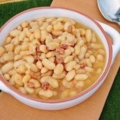 Slow Cooker Ham and Beans by mjohnmeyer