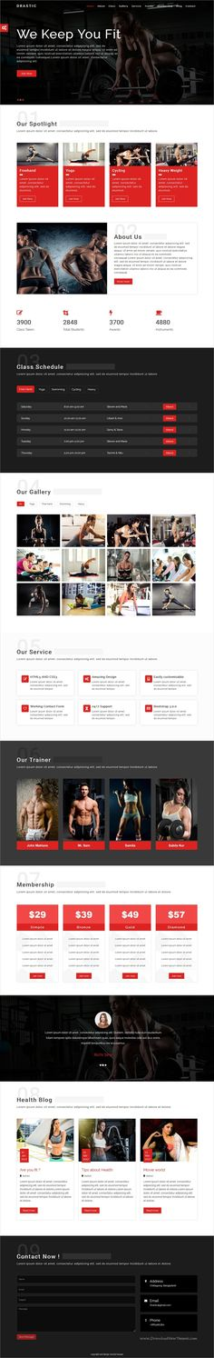 Drastic is clean and modern design responsive #HTML5 template for #fitness, gym and #healthcare website download now > https://themeforest.net/item/drasticgym-health-care-html5-template/19932503?ref=Datasata