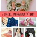 DIY Crochet Handwarmer Patterns {7 Free Designs}...time to make some of these! #crochet #pattern