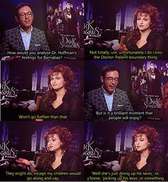 Dark Shadows Interview