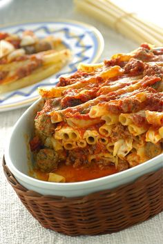Ziti al forno alla pugliese  #TuscanyAgriturismoGiratola