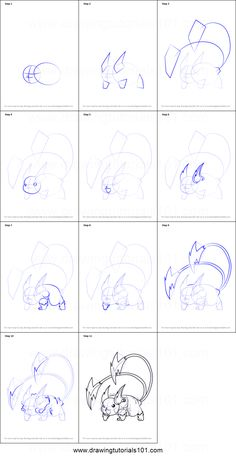 How to Draw Mega Raichu from Pokemon step by step printable drawing sheet to print. Learn How to Draw Mega Raichu from Pokemon Art Drawings For Kids, Easy Drawings, Pencil Art Drawings, Colorful Drawings, Cartoon Drawings, Pixel Pokemon, Mega Pokemon, Pokemon Eevee, Easy Pokemon Drawings