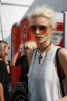 Love the festival chic style here by Abby