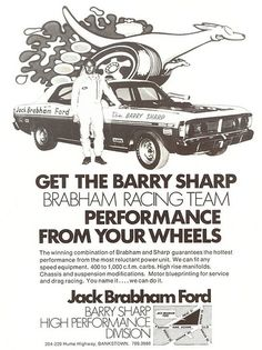 1971 Ford XY Falcon GT - Brabham Ford Ad   Flickr - Photo Sharing!