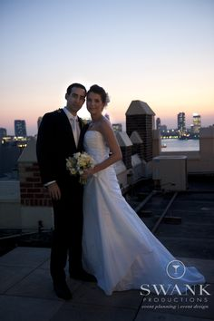 Planned, Designed & Produced by www.swankproductions.com New York City Mirror Wedding at Tribeca Rooftop. The Bride and Groom Photo Shoot #swank #mirror #new #york #wedding #tribeca #rooftop #bride #groom #love #couple #decor