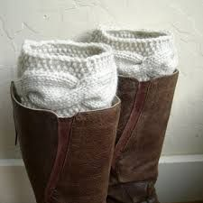 Image result for chunky crochet boot cuffs