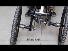 A two-wheeled vehicle such as bicycle and motorcycle tilt in the turn to counter the centrifugal forces acting on the vehicle, while other vehicles including. 4 Wheel Bicycle, Electric Trike, Cars Youtube, Reverse Trike, Cargo Bike, Volkswagen Bus, Car Wheels, Diy Frame, Tricycle