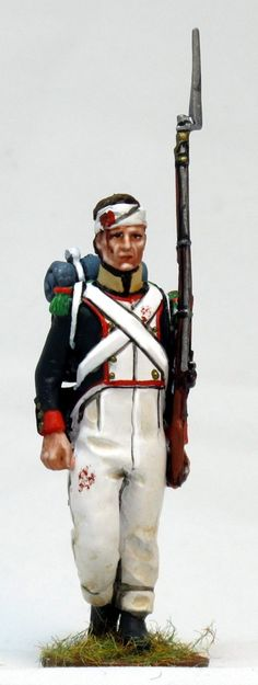 NP 257voltigeur de linea waterloo 1 Lead Soldiers, Toy Soldiers, Napoleon, Army, Military, Toys, Miniatures, Paper Envelopes, Soldiers