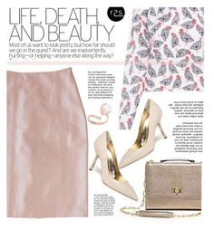 """""""Life,death and beauty"""" by runway2street ❤ liked on Polyvore featuring FLOW the Label, Plakinger, Emy Mack and Otazu"""