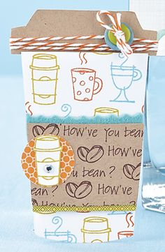 How've You Bean? Card by @Laura Pryor