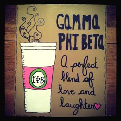 Awesome Gamma Phi Beta Ideas :) I love the Crescent Moon xo