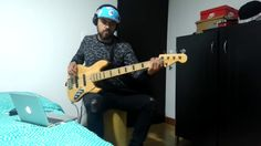 UPTOWN FUNK TONY SUCCAR SALSA VERSION BASS COVER