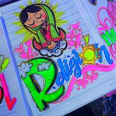 Peacock Art, Calligraphy Art, Art Drawings Sketches, Princess Peach, Religion, Doodles, Neon Signs, Lettering, Anime