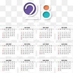 O Efeito calendário, folhas de 2018