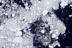 Le più belle foto di Google Earth di sempre - Antartide