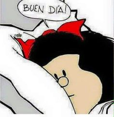 Image shared by Guadita. Find images and videos about buenos días, mafalda and buen dia on We Heart It - the app to get lost in what you love. Good Morning Smiley, Good Morning Funny, Good Morning Messages, Good Morning Good Night, Mafalda Quotes, Hello Quotes, Good Day Quotes, Love Images, Decir No