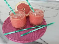 2 Glasses of This Every Morning and You Will Say Goodbye to Excess Belly Fat-1 whole grapefruit,1\3 cup of pinapple chuncks and 1\3 vup of pomegranate juice