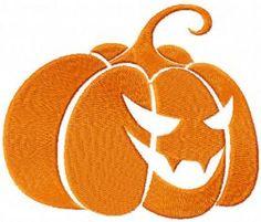 Pumpkin free machine embroidery design. Machine embroidery design. www.embroideres.com