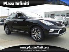 2016 Infiniti QX50(Black). Plaza Infiniti   Vehicles for sale in Creve Coeur, MO 63141