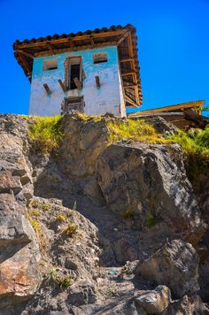 ˚House On Rocks - Peru