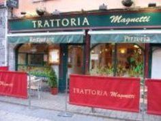 Trattoria Magnetti - good cappuccino.
