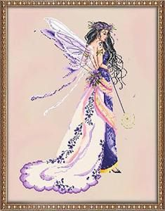 Enchanted Fairy Cross Stitch Pattern (312070) Embroidery Patterns by Passione Ricamo