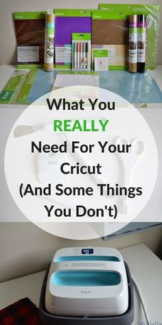 Full List of Everything You Could Possibly Need For Your Cricut, what they're used for and why you should or shouldn't buy them