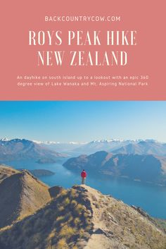 One of my favorite New Zealand day hikes - Roys Peak! This 4 mile climb to an epic lookout will stun you with the view. Click to read my trip report about this south island hike.