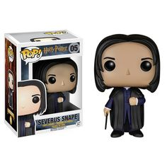 This is a Severus Snape Harry Potter POP Vinyl Figure. The Severus Snape figure is produced by the good folks over at Funko. Harry Potter is the stuff of legends at this point, and the POP Vinyl's hav Harry Potter Quidditch, Rogue Harry Potter, Objet Harry Potter, Saga Harry Potter, Funko Harry Potter, Harry Potter Wand Stand, Figurine Pop Harry Potter, Harry Potter Pop Figures, Harry Potter Pop Vinyl