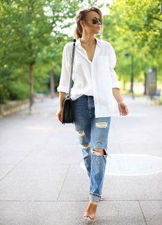 15 ลุคใส่กางเกงยีนส์ยังไง ให้ดูผู้ดี้ผู้ดี มีสกุลประดุจลูกคุณหนูมาเดินชอปปิ้ง