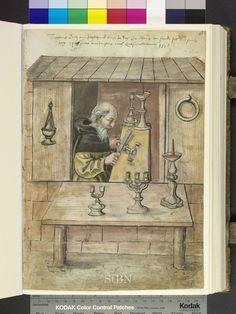 1518 candlestick maker Die Hausbücher der Nürnberger Zwölfbrüderstiftungen
