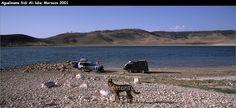 Campsite Lac Aguelmame Sidi Ali.....Marocco 2001