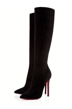 dream pair xoxo Christian Louboutin Pigalle Boot, $1,495- Fierce Louboutin Heels For The Anti-Louboutin Girl