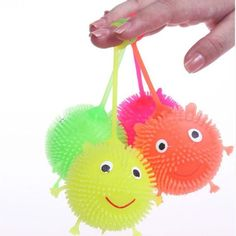 Luggage & Bags Funny Anti Stress Ball Animal Vent Toy Fun Extruding Big Raised Eyes Doll Keychain Squeezing Toys Novelty Bag Parts Accessories Complete Range Of Articles