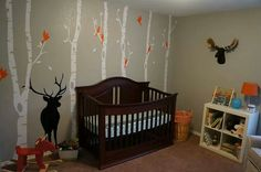 I ordered these vinyl wall decals for her nursery...but in different colors :) Can't wait to put them up!
