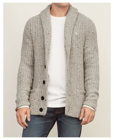 Pullover Mode, Pullover Outfit, Cardigan Outfits, Cardigan Style, Mens Sweater Outfits, Black Cardigan, Mens Fashion Sweaters, Sweater Fashion, Men Sweater