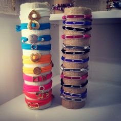 Cool colorful bracelets! #Summer is here!