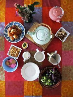 Tea party at Munkkisaari